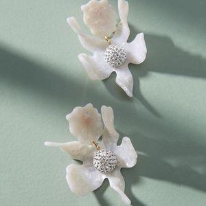 NWT Anthropologie Lele Sadoughi lily earrings